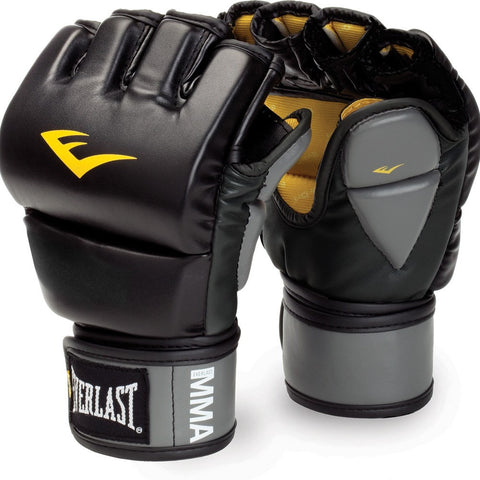 Everlast MMA Pro Leather Grappling Gloves