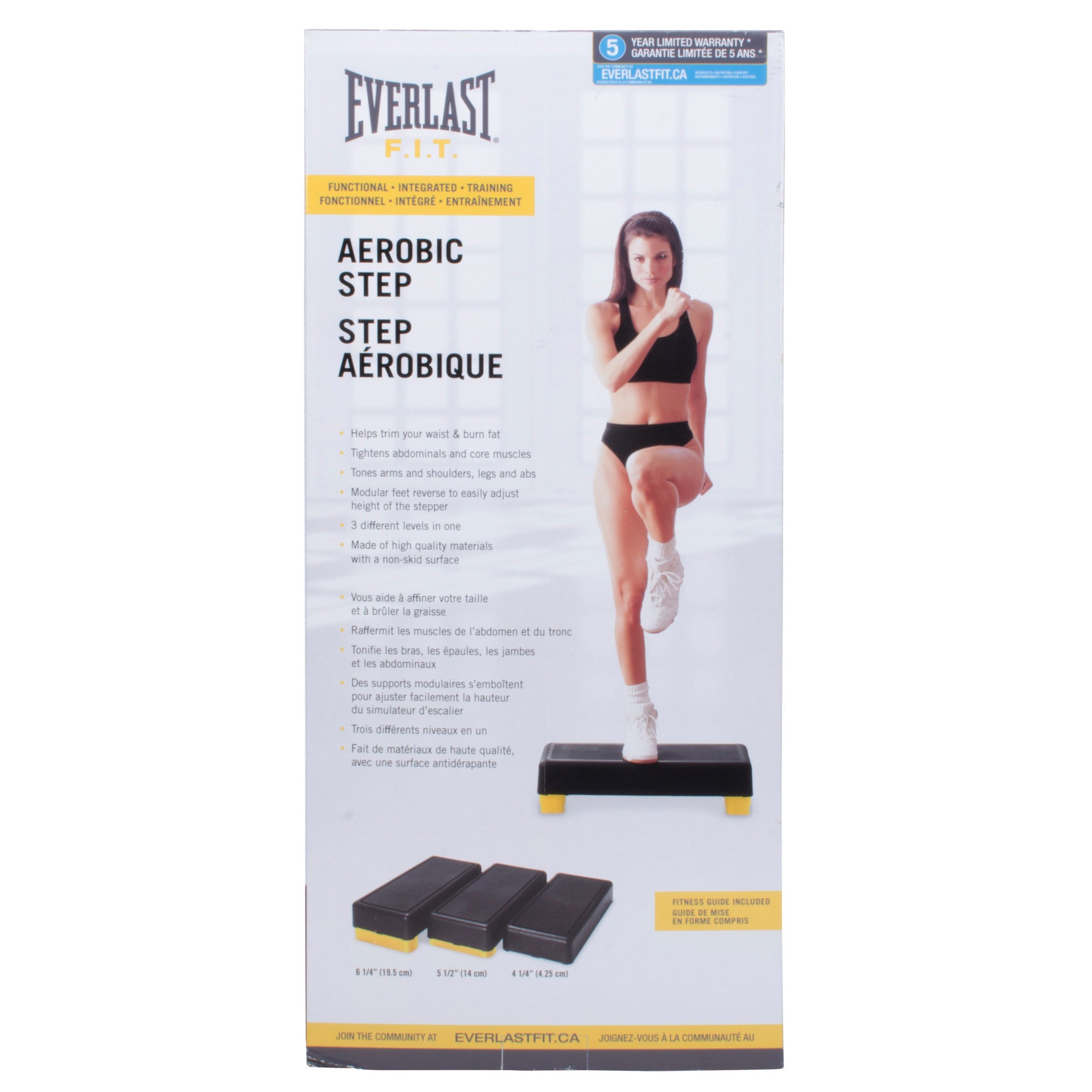 Everlast Aerobic Step by Everlast Canada