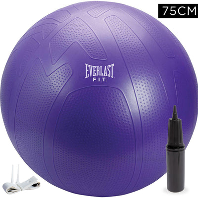 Everlast 75cm Pro Grip Burst Resistant Fitness Ball by Everlast Canada