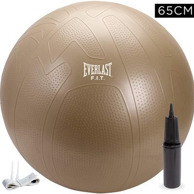 Everlast 65cm Pro Grip Burst Resistant Fitness Ball by Everlast Canada