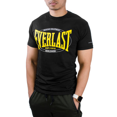 Everlast Worldwide Logo Shirt Black by Everlast Canada
