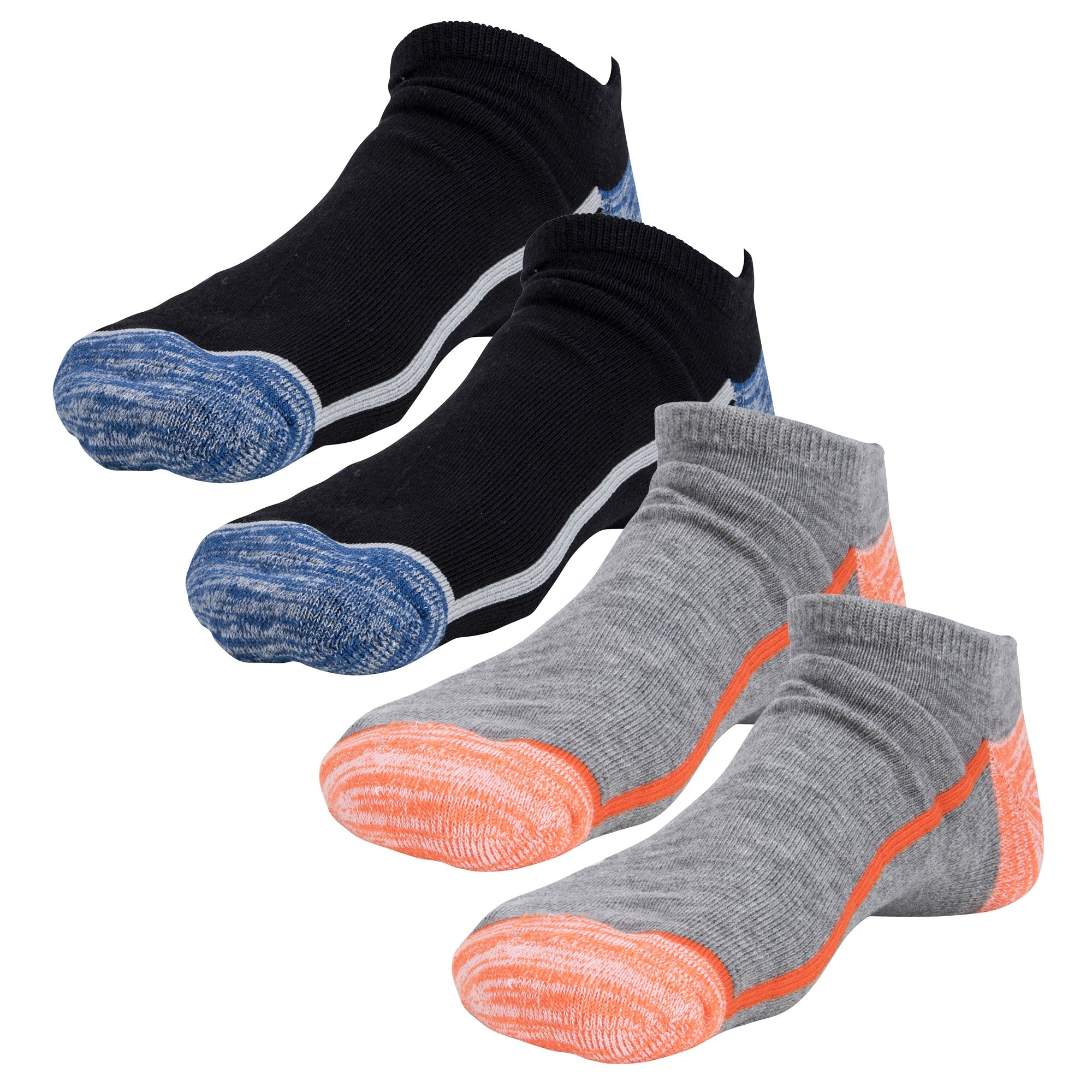 Everlast Men's No Show Socks - 4 Pack by Everlast Canada