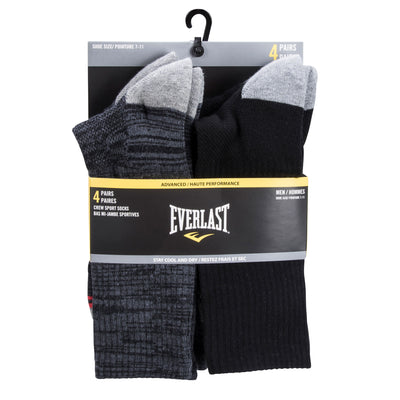 Everlast Men's Crew Sport Socks - 4 Pack by Everlast Canada
