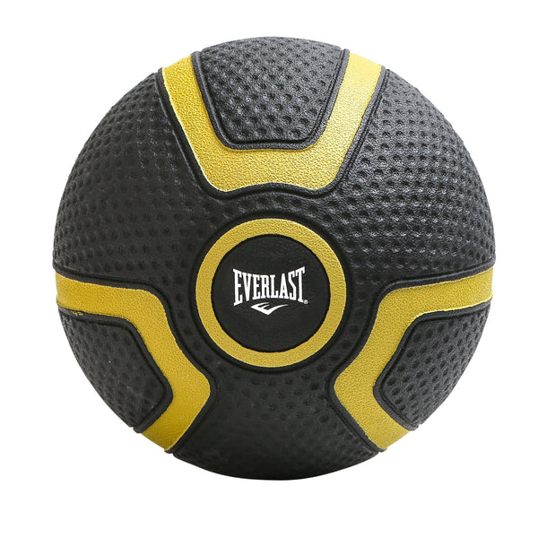 Everlast Black Tough Grip Medicine Ball