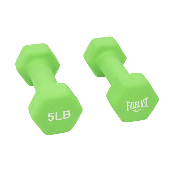 Everlast Neoprene Hand Weights (3 lb, 5 lb or 8 lb) - Pair