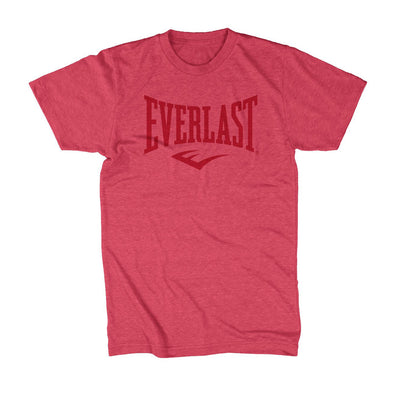 Everlast Logo Shirt Red on Red by Everlast Canada