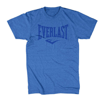 Everlast Logo Shirt Blue on Blue by Everlast Canada
