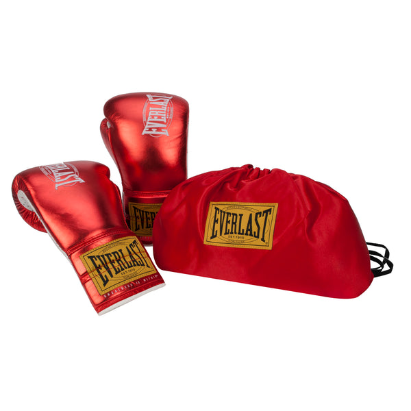 Everlast 1910 Fight Gloves Metallic by Everlast Canada