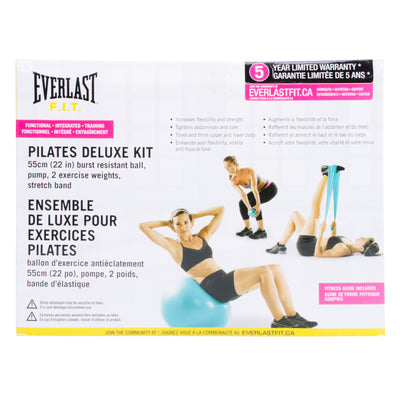Everlast Pilates Deluxe Kit by Everlast Canada