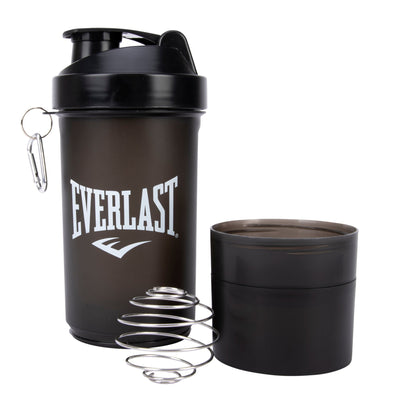 Everlast Shaker Bottle With 2 Compartments
