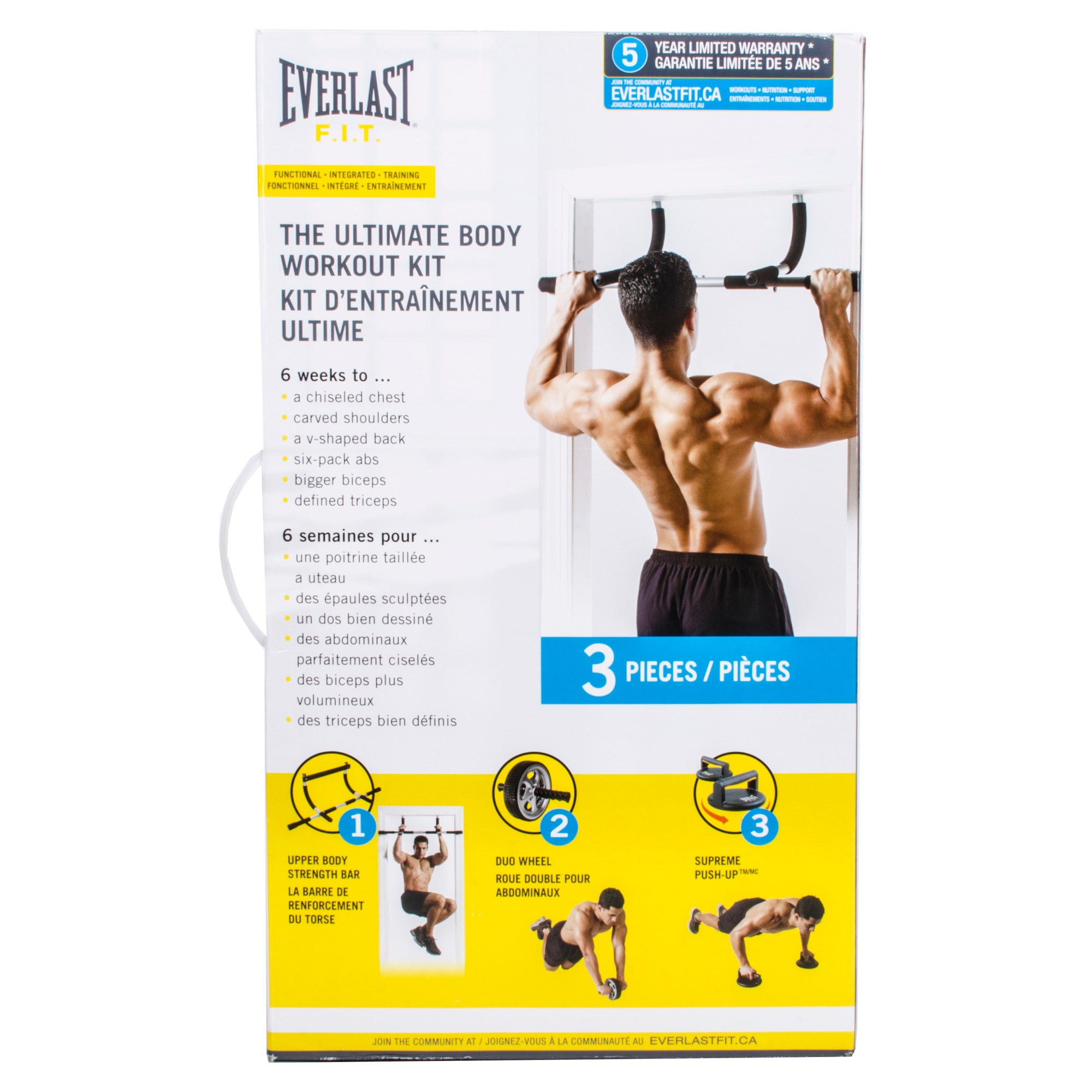 Everlast The Ultimate Body Workout Kit by Everlast Canada