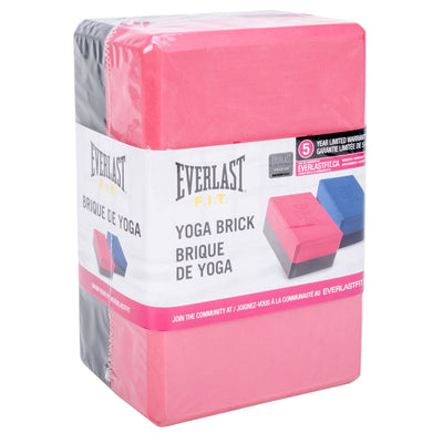 Everlast Two Tone Yoga Brick by Everlast Canada