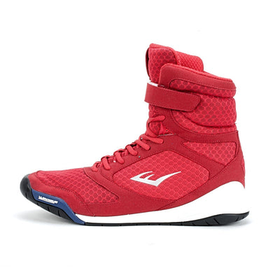 Everlast Elite Red High Top Boxing Shoe by Everlast Canada