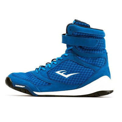 Everlast Elite Blue High Top Boxing Shoe by Everlast Canada
