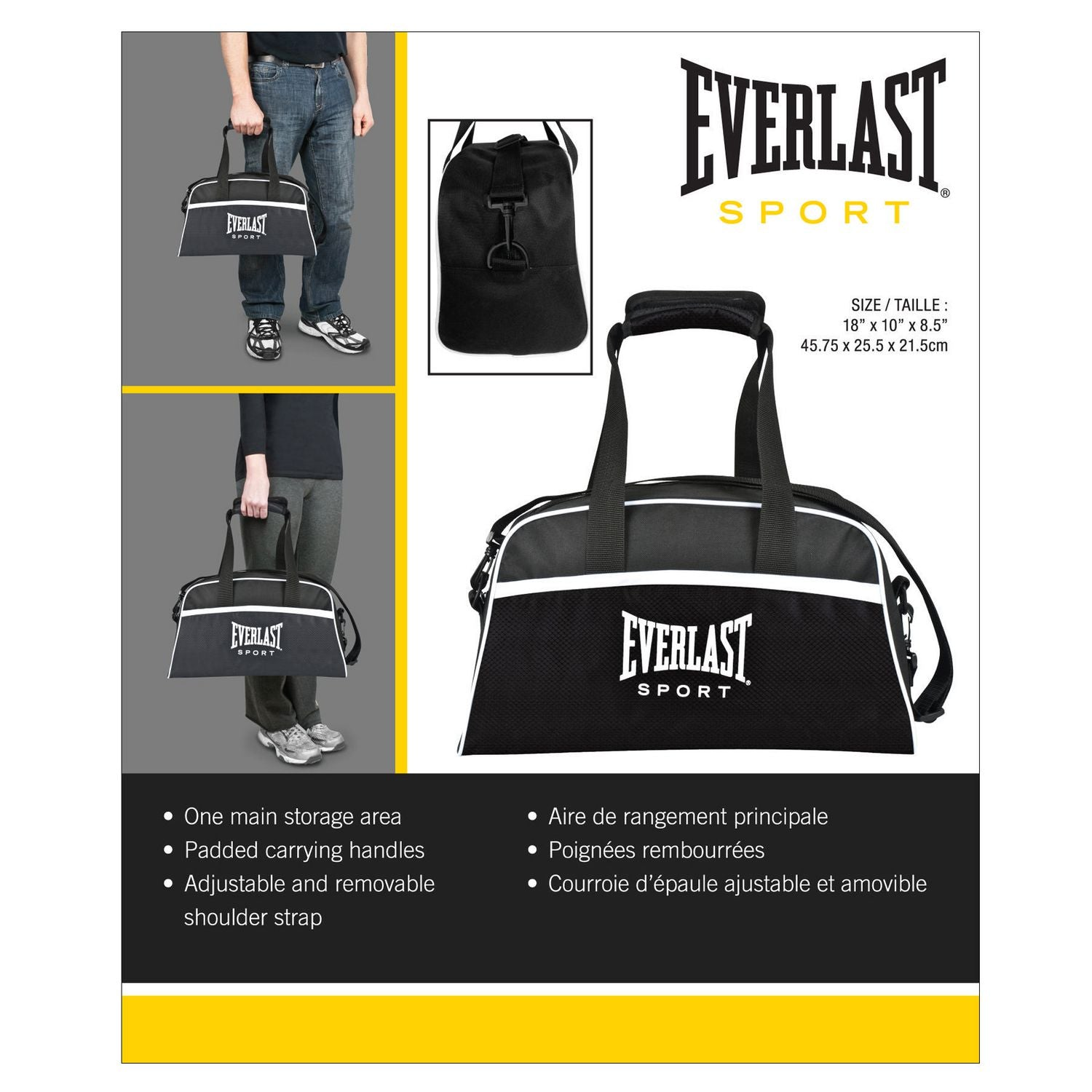 Everlast Training Sport Bag by Everlast Canada