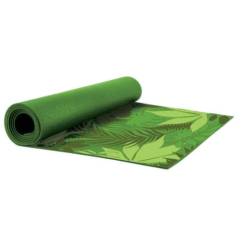 Everlast 6MM Printed Yoga Mat Tropical Print by Everlast Canada