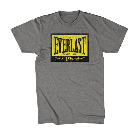 Everlast Choice of Champions Logo Shirt Grey by Everlast Canada