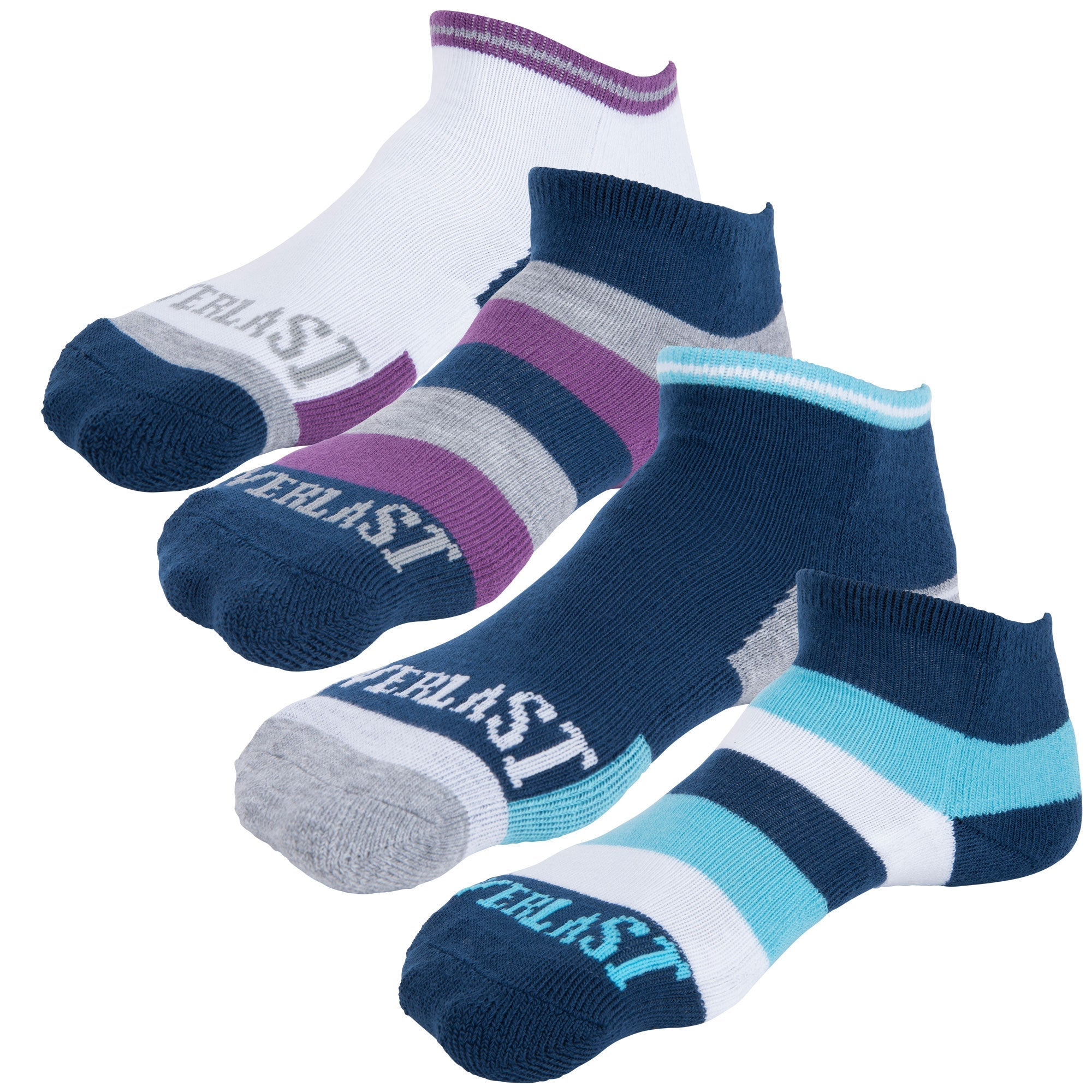 Everlast Girls Ankle Socks - 4 Pack by Everlast Canada