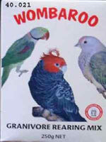 Wombaroo Granivore Rearing Mix 1 Kg parrots pigeons & finches bird food