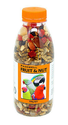 PASSWELL BIRD FOOD FRUIT & NUT 330G