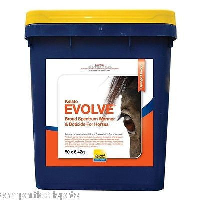 Kelato Evolve Equine Worm and Bot Paste 6.42g Bucket of 50
