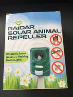 Raidar Solar Animal Repeller - Dogs, Cats, rodents and small native animals