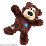 KONG Wild Knots - Pet Puppy Dog Plush Throw Play Toy [3Color,2 Sizes]