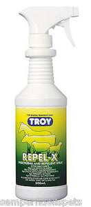 Troy Repel-X 500ml for horses, dogs, cattle and pigs