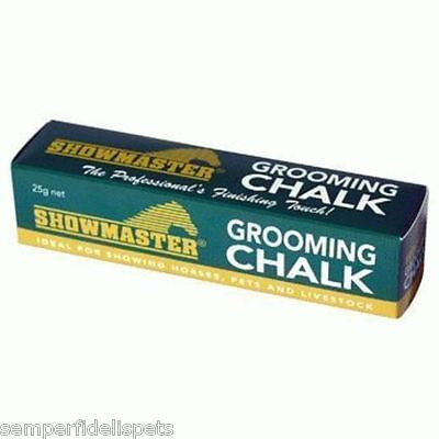 Showmaster Grooming Chalk    Black, Brown for horses