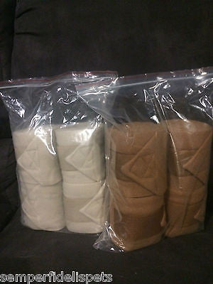 Set of 4 Bandages       Fawn or Tan
