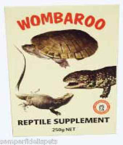 Wombaroo Reptile Supplement Food 250g