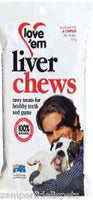 LOVE'EM LIVER CHEW 4PK BOX OF 8