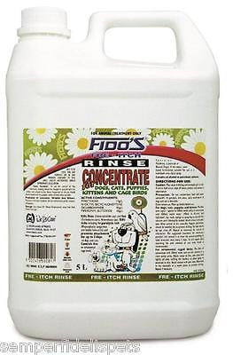 Fido's Free Itch Rinse Concentrate 5L FREE DELIVERY PERTH METRO ONLY