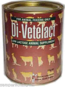 Di-Vetelact Low Lactose Milk Replacer 900g