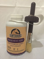 Hawthorne Sole Pack Hoof Dressing 16oz Bottle with Brush