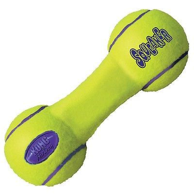 KONG AirDog Squeaker Dumbbell Small Dog Toy