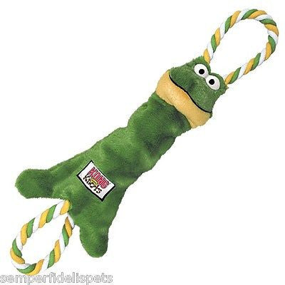Kong Tugger Knots Frog Med/Large Dog Toy