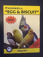 Passwell Egg & Biscuit 500g for Birds