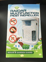 Raidar Multifunction Pest Repeller - House and Garden