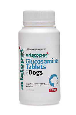 Aristopet Glucosamine Beef Flavoured Tablets for dogs 250 Tablets