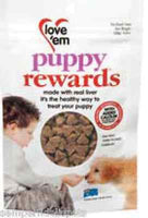 LOVE'EM PUPPY REWARDS 120G BX8