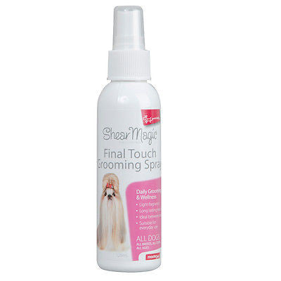 Shear Magic 'Yours Drooly' (Aristopet) Final Touch Grooming Spray 125ml