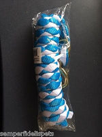 Roma Multi Coloured Lead Light Blue/White 2m for Horses