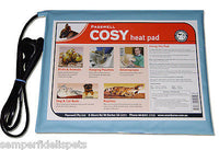 PASSWELL COSY PET DOG CAT BIRD REPTILE HEAT PAD 260MM X 360MM PVC 10 WATTS