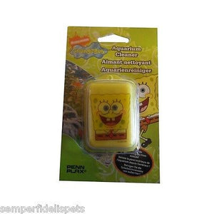Spongebob aquarium cleaner by Penn plax