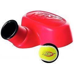 Nerf Dog Red Extreme Stomp Launcher Interactive Dog Toy