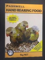 Passwell Hand Rearing Food for parrots, pigeons, doves and finches 1kg