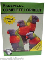 Passwell Complete Lorikeet 20kg FREE DELIVERY PERTH METRO ONLY