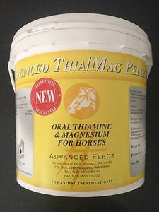 Advanced Thia/Mag Pellets - Oral Thiamine & Magnesium for Horses 3kg