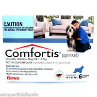 Comfortis For Dogs 18.1-27kg Blue 6 Tablets